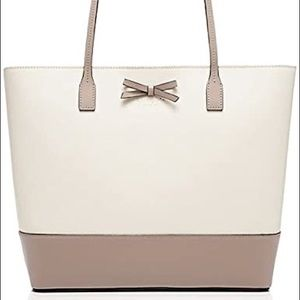 Kate Spade Tori Colorblock Leather Tote